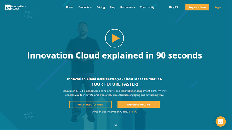 Innovation Cloud home page